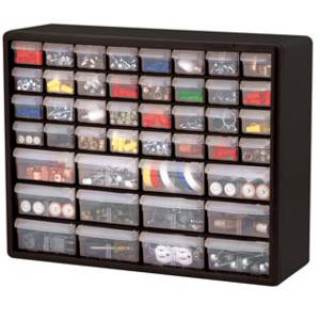 CABINET PLASTIC 44 DRAWER