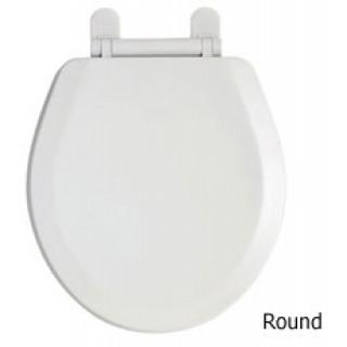 TOILET SEAT ROUND WHITE