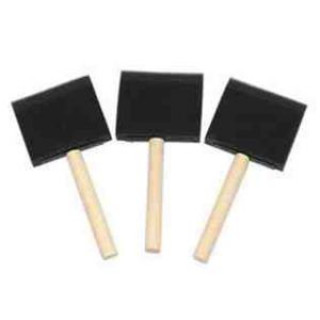 BRUSH POLY FOAM 1""
