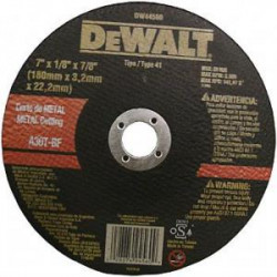 "DISC METAL 7"" X1/4"" X7/8"""