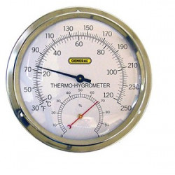 HITEMP DIAL THERM/HYG IN