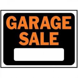 SIGN GARAGE SALE 9X12