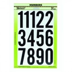 NUMBERS ASSORTMENT 3""