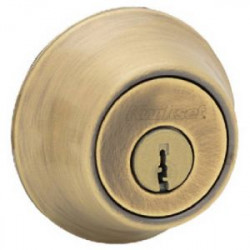 LOCK DEADBOLT DBL CYL POL