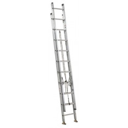 LADDER EXT ALUM 28' 250#