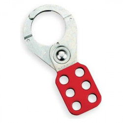 LOCK OUT HASP RED 1 1/2""