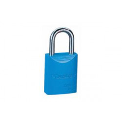 LOCK BLUE KEYED