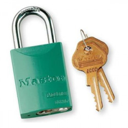 LOCK GREEN KEYED