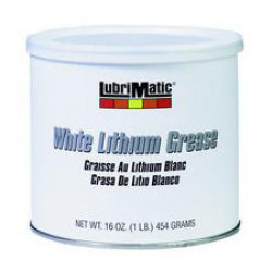 GREASE CAN WHITE LIT 160Z