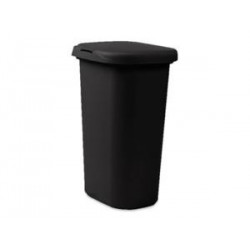 52 QT COVERED WASTEBASKET