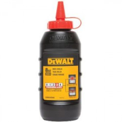 CHALK RED DEWALT 8OZ