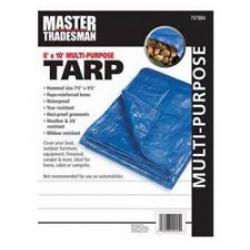 TARP COVER BLU 8X10