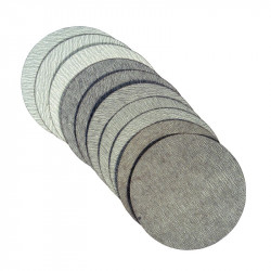 "SANDPAPER 6""10PC ALUMOXID"