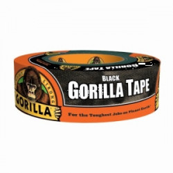 TAPE DUCT 1.88 X 35YD BLK