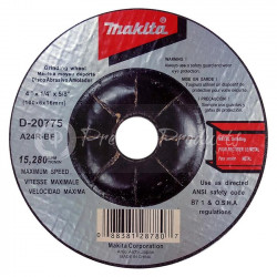 "DISC GRIND 4""X1/4X5/8"" MS"