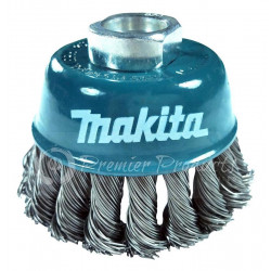 """BRUSH CUP 3""""X5/8"""" KNOT MS"""