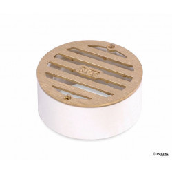 GRATE ROUND W/PVC COLLAR