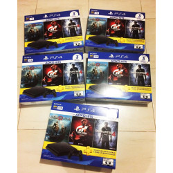 PS4 (1TB) 3 GAME BUNDLE
